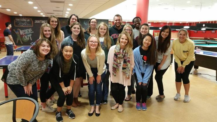 Temple PRSSA Fall 2015 Mentorship Event