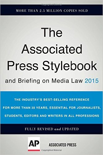 AP Style guide